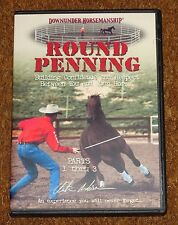 Clinton Anderson Round Penning Build Confidence & Respect Horse DVD Training Set