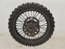 2007 Kawasaki KX250F KXF 250 Engine Motor Rear Back Wheel Hub Rim Tire Spokes