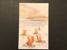 THE SQUIRRELS HEAD OF BROWN'S BEATRIX POTTER POSTCARD THE WORLD OF PETER RABBIT