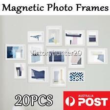 7*4.5cm Pack of 20 Mini Photo Frame Magnets Fridge Magnet Photo Holders AU STOCK