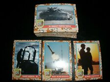 1991 Desert Storm Series 2 Victory Base 88 Card Set With Full 11 pc.Sticker Set