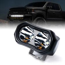 Xprite 10W LED Spotlight Mini Bar Clear Lens for Truck ATV UTV Jeep Work Lamp