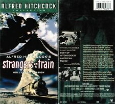 Strangers on a Train Hollywood Version Vhs Video Tape New Alfred Hitchcock