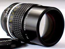 * MINT * L/N *  Nikon 135mm F2.8 Ai-s F3HP FM2N FE2 FM3A F2 D7000 D750 D610 D800