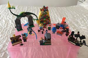 Lego Sets Bundle Nexo Knights Chima Harry Potter Jurassic World Pirates