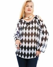 Chiffon Kimono Sleeve Tunic Tops for Women