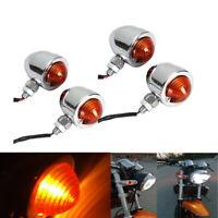 4pcs 10mm Motorrad Blinker Lichter Bremslicht für Harley Cafe Racer Yamach