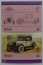 1926 PONTIAC 2-DOOR Car Stamps (Leaders of the World / Auto 100)