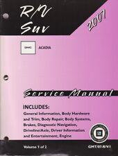 2007 GMC Acadia Factory Service Repair Workshop Manual - 2 Vol. Set GMT07RV