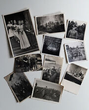 Old Photo Lot Of 10 Original Photos Germany WW2 Soldiers Wehrmacht