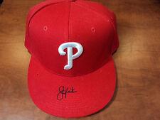 SHANE VICTORINO - Signed MLB AUTHENTIC Philadelphia Phillies HAT/ CAP - JSA COA