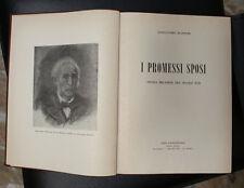 I PROMESSI SPOSI di Alessandro Manzoni ed. Giannantonio 1955