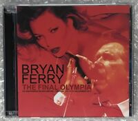 BRYAN FERRY THE FINAL OLYMPIA CD ALBUM UXBRIDGE 422 JUST LIKE TOM THUMBS BLUES