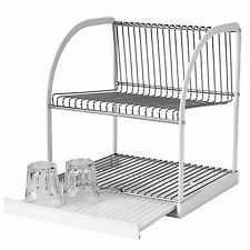 Ikea kitchen dish drying racks ebay for Kitchen drying rack ikea