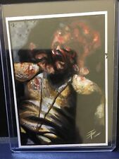 Game of Thrones Hand-Drawn Color Sketch Card by Tim Proctor Pit Fight 1/1 Rar