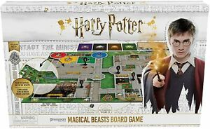 Harry Potter Magical Beasts Board Game Ages 8 Years + Ex Condition
