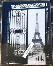 Paris art decor poster affiche tour Eiffel 1925 photo noir et blanc 60x80 neuf