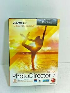 Cyberlink Photo Director Ultra 7 *New Sealed In Box*