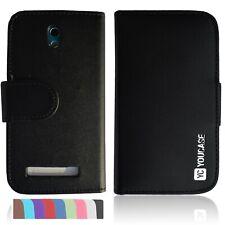 HTC Desire 500 funda bolsa, funda protectora, protección estuche cartera book cover yc