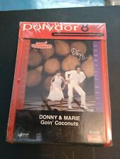 Donny & Marie Osmond: Goin' Coconuts SEALED 8 Track Tape Partridge family POP