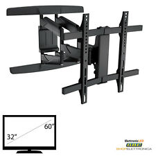 STAFFA SUPPORT PORTA TV A MURO A PARETE LCD PLASMA 32 40 42 46 47 50 55 60 ""