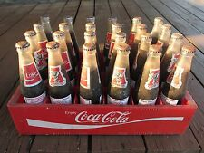 "VTG Coca Cola Paul ""Bear"" Bryant Crimson Tide Collectible Bottles/Coke case-RARE"