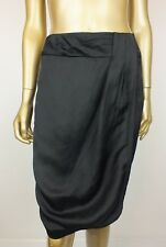 VERONIKA MAINE by CUE PENCIL SKIRT BLACK STRAIGHT DRESS SKIRT - SIZE 8