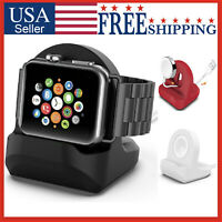 For Apple Watch Charging Stand Holder Dock Station Mount iWatch SE 6 5 4 3 2 1
