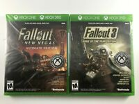 Fallout 3 Game of the Year & New Vegas Ultimate Edition Xbox One / 360 Lot of 2