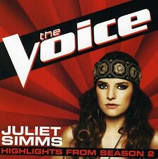 Voice Hlts From Season 2 - Juliet Simms (CD Used Very Good)