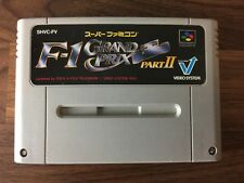 F1 Grand Prix Part II 2 SHVC-FV / NTSC-J Super Famicom SFC SNES JAPAN