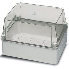 ABB THERMOPLASTIC ENCLOSURE Surface Mount,Screwed CLEAR- 310x240x 110mm Or 160mm