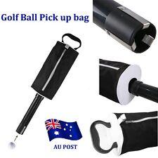 Golf Shag Bag Pick Up Golf Ball Storage Retriever Collector Holds 60 Balls  BO
