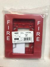 (1) Est - Edwards G1Rt-Fire Genesis Trim Plate - Red (Factory packaging)