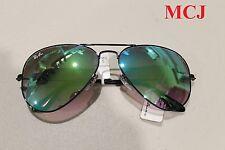 'New w tag' Ray-Ban RB 3025 Aviator Large Metal 002/4J Sunglasses