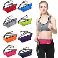 Unisex Bum Bag Waist Belt Bag Sport Running Jogging Exercise Travel Pack Women