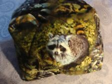 Microwave Bowl Holder Racoon Coon brown Bowl Cozy Bowl Potholder  Bowl Cover