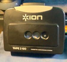 Ion Tape2Go Portable Cassette Player w/ Mp3 Converter (Unit w/cable, No Box/doc