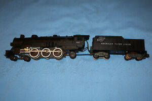 American Flyer #283 CN&W Locomotive & Tender. Runs and Smokes well.