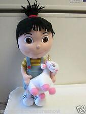 "Despicable Me Agnes with Unicorn Plush Toy 18"" Doll Universal Studios Park"