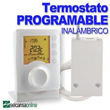 DELTA-DORE 6053010 RADIO TYBOX-237 Cronotermostato programable inalambrico