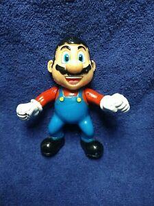 "Vtg 90's rare Super Mario Bros, mexican toy, bootleg and ko hard plastic 5.5"""
