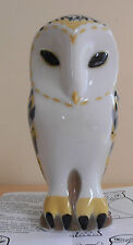 Sargadelos Porcelain Big Owl Figurine - NEW