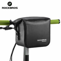 RockBros Folding Bike Handlebar Bag Waterproof Front Cycling Bag Large Capacity