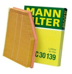 Óleo Mann Ar Filtro De Cabine De Carbono dois Kit De Manutenção Para Bmw E60 E61 5-Series 3.0 L6