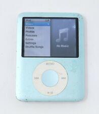 New ListingApple 8Gb iPod Nano - 3rd Generation - Blue - Mb251Ll / A1236