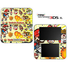 Super Paper Mario for New Nintendo 3DS XL Skin Decal Cover