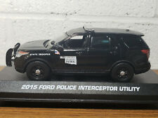 Custom 1/43rd scale Oklahoma Highway Patrol Ford Police Interceptor Utility
