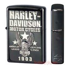 2016 ZIPPO Lighter Harley Davidson Limited Model HDP-54 ion Black Silver 1903