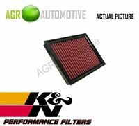 NEW K&N PERFORMANCE AIR FILTER HIGH-FLOW AIR ELEMENT GENUINE OE QUALITY 33-2793